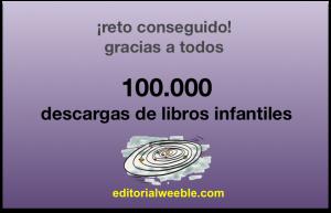100000 descargas
