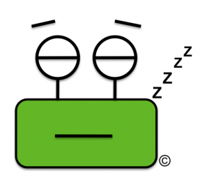 Weebi dormido